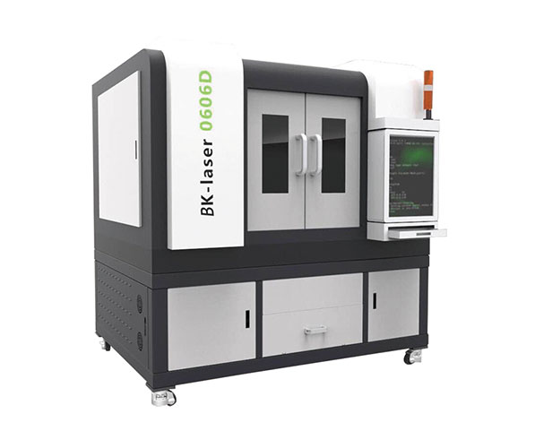 2019 New Design 500W High Precision Fiber Laser Cutting Machine