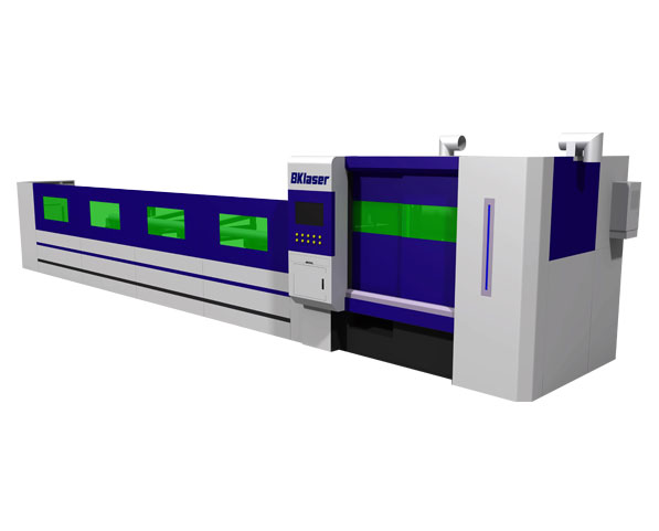Stainless Steel Tube Fiber Laser Cutting Machine