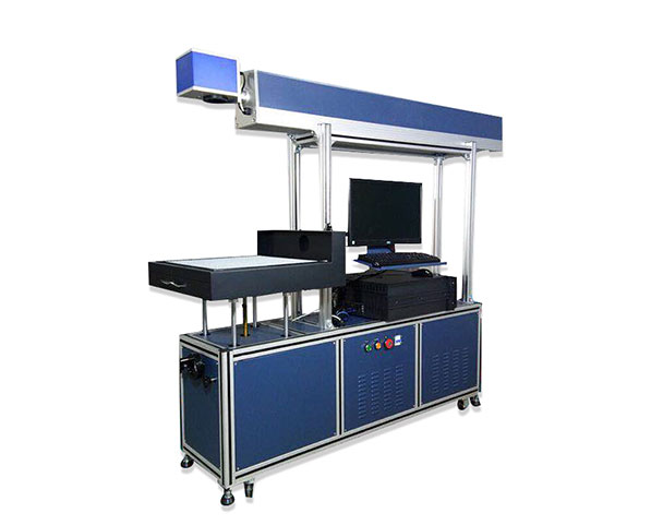 Glass Tube Denim Jeans Laser Engraving Machine